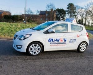 driving lessons in Chester by Quail's School of Motoring instructors