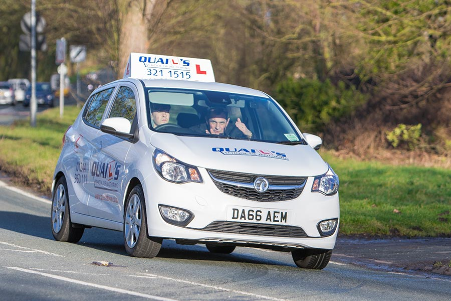 driving lessons Wirral - lost of choice including igo & Chris Kelly, we'd like to think you will pick Quails driving Lessons Wirral