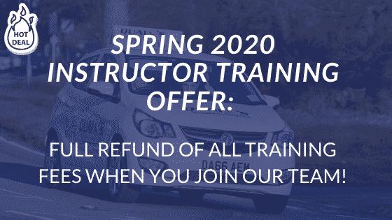 Spring-2020-DRIVER-INSTRUCTOR-TRAINING-OFFER
