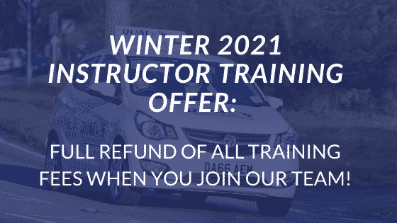 WINTER 2021 DRIVER INSTRUCTOR TRAINING OFFER_